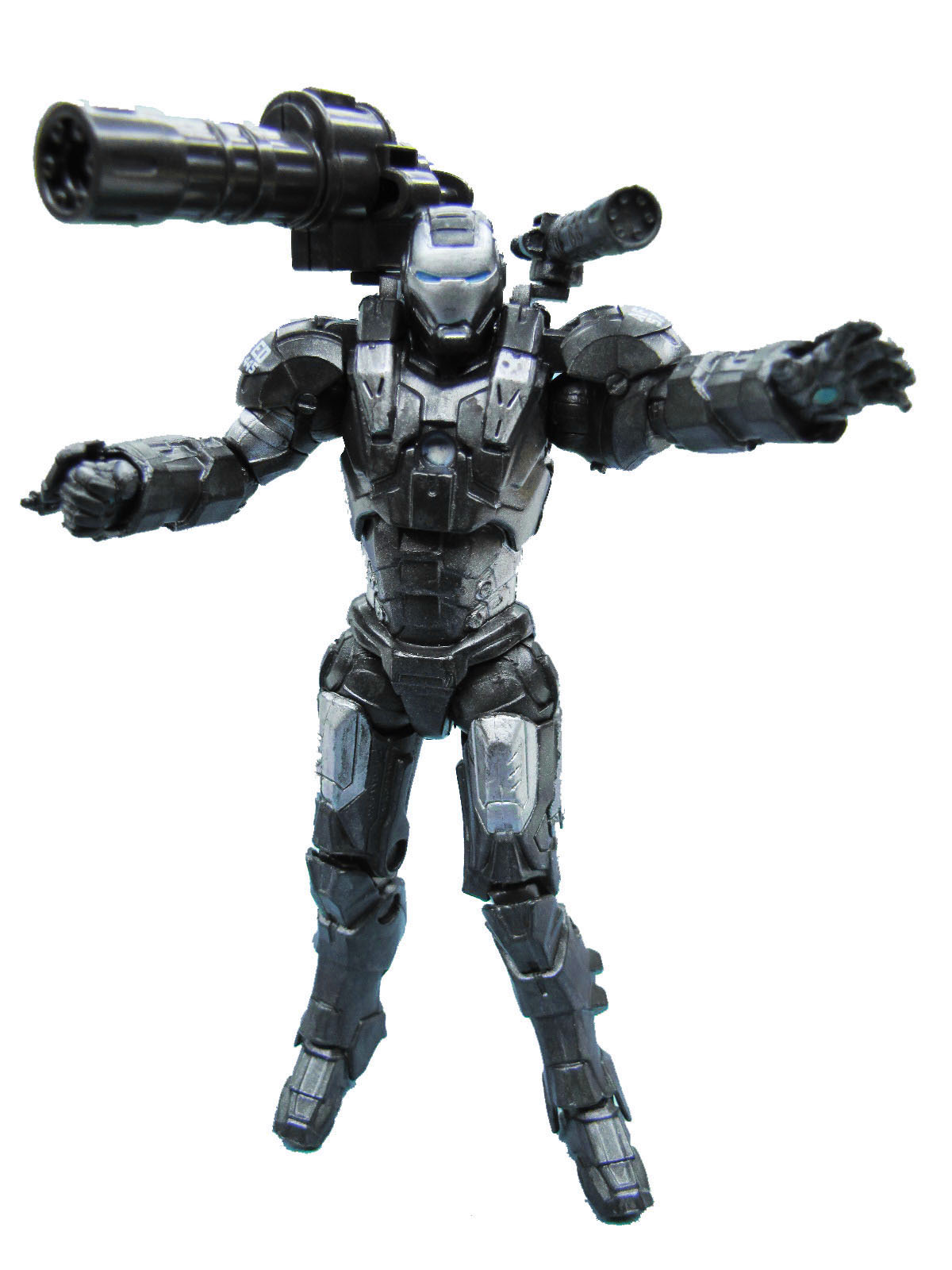Marvel Iron Man 2 Movie Series War Machine Complete