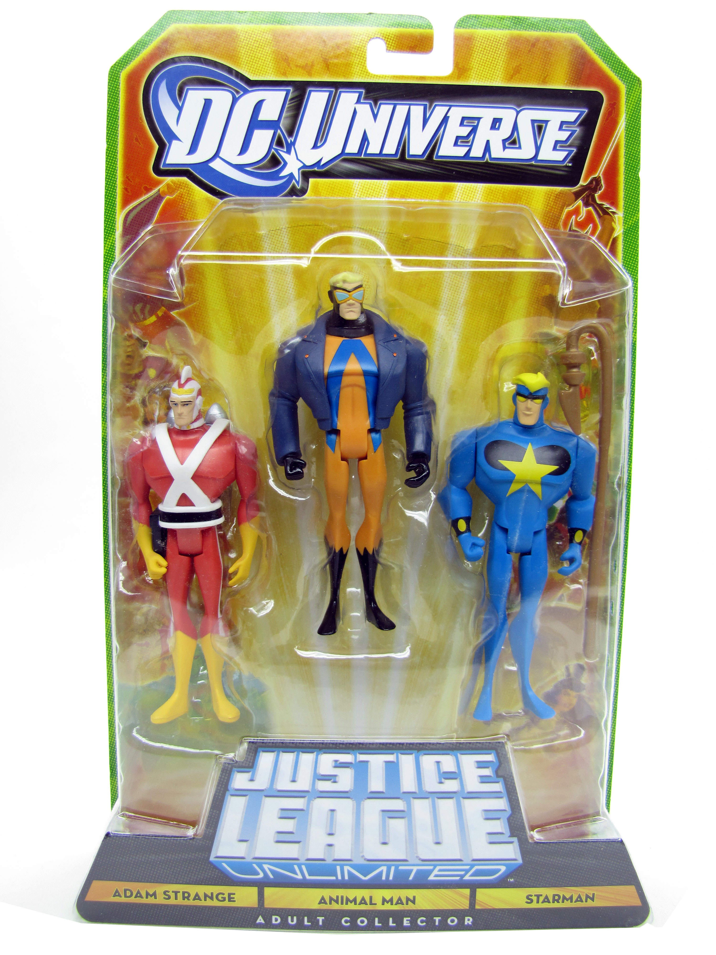 Justice League Unlimited Adam Strange Animal Man Starman Sealed