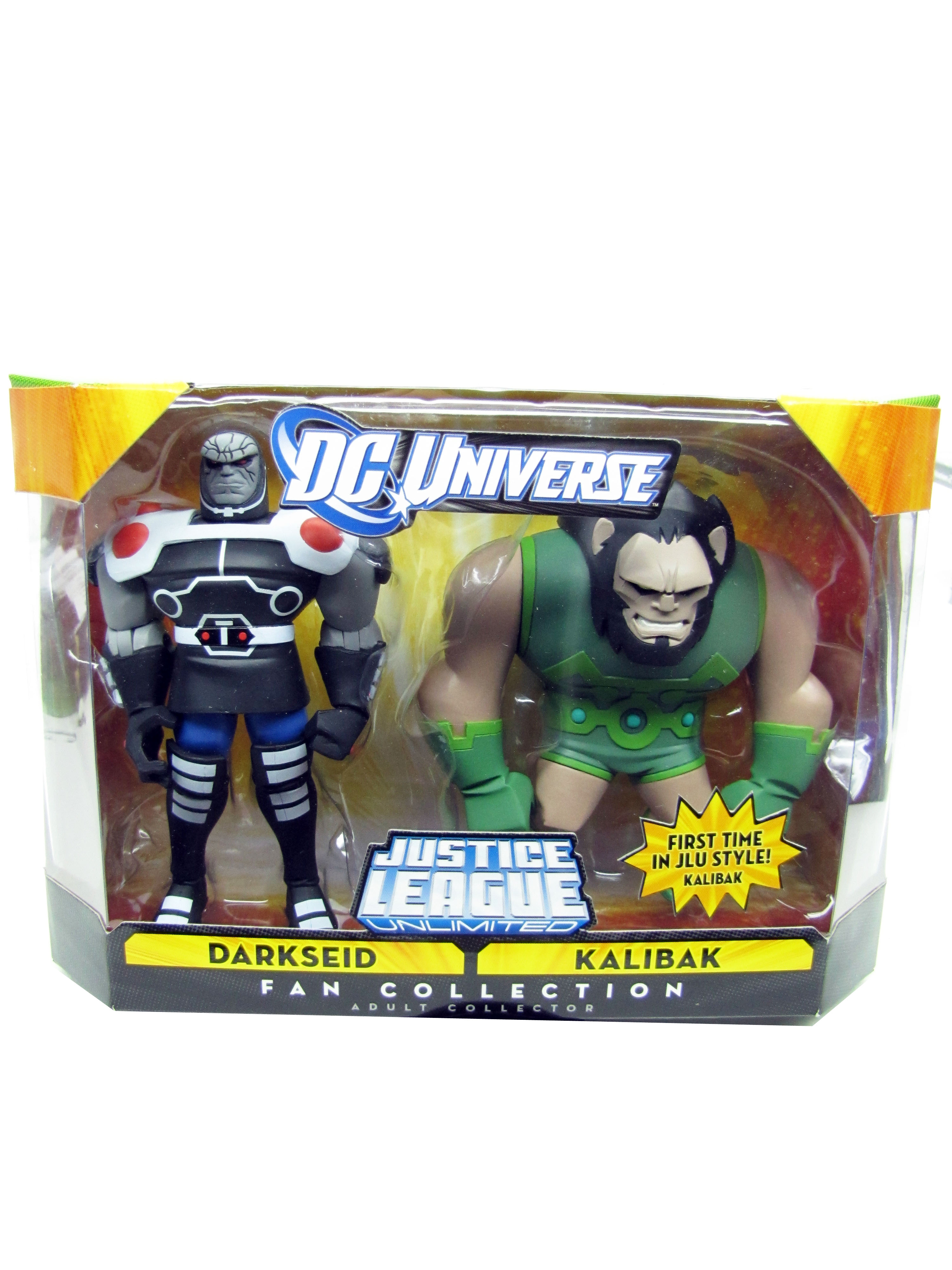 Justice League Unlimited 2 Pack Darkseid and Kalibak Sealed