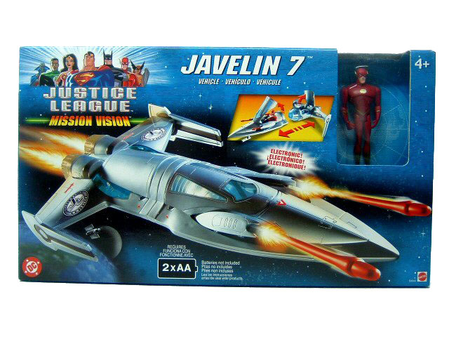Justice League Javelin 7 Sealed Mint in Box