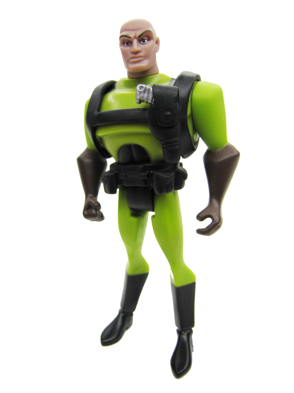 Justice League Unlimited Lex Luthor Green Suit Complete