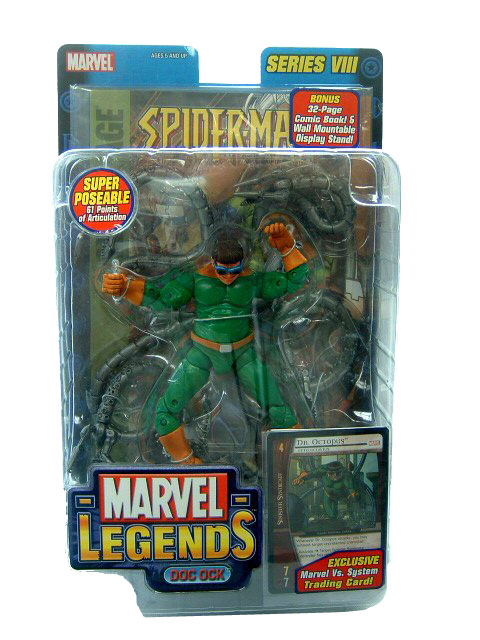 Marvel Legends Series 8 Dr Octopus Doc Ock Sealed Mint on Card