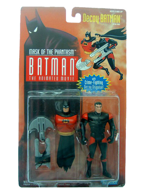 Batman The Animated Series Decoy Batman Mint on Card