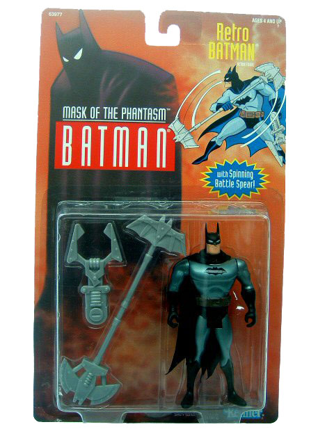 Batman The Animated Series Retro Batman Mint on Card