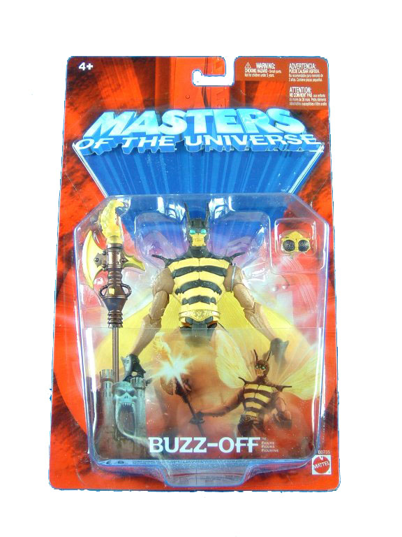 MOTU Modern Series Buzz Off Gold Belt Sealed Mint on Card