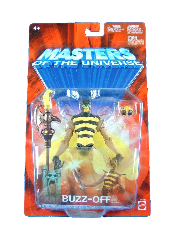 MOTU Modern Series Buzz Off Yellow Belt Sealed Mint on Card
