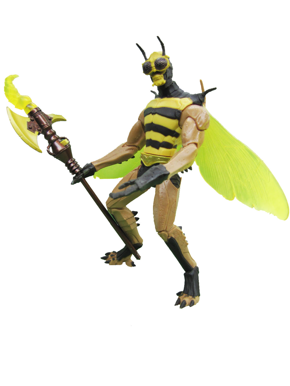 MOTU Modern Series Buzz Off Gold Belt Complete