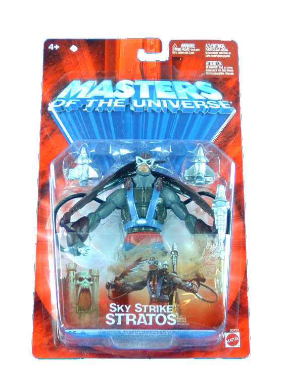 MOTU Modern Series Sky Strike Stratos Sealed Mint on Card