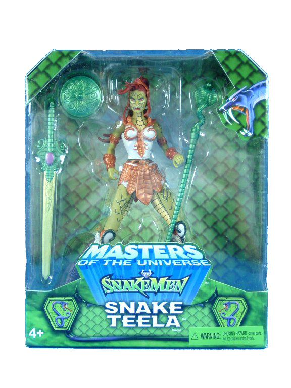 MOTU Modern Series Snake Teela Sealed Mint on Card