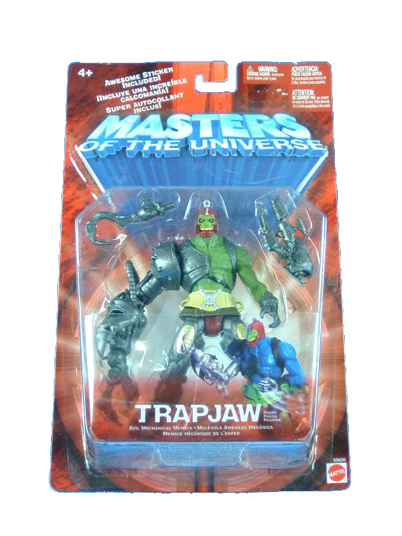 MOTU Modern Series Trapjaw Repaint Sealed Mint on Card