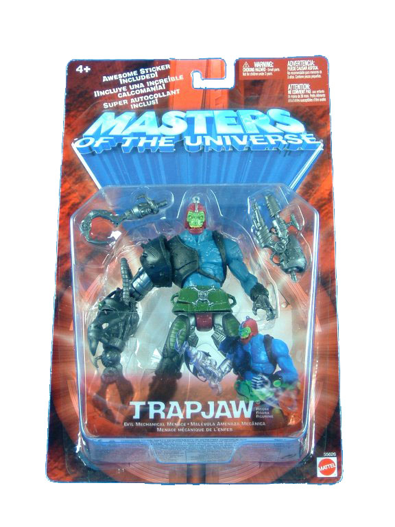 MOTU Modern Series Trapjaw Sealed Mint on Card