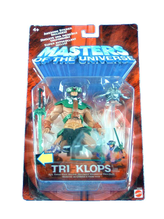 MOTU Modern Series Tri Klops Sealed Mint on Card