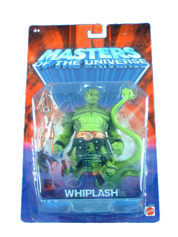 MOTU Modern Series Whiplash Sealed Mint on Card