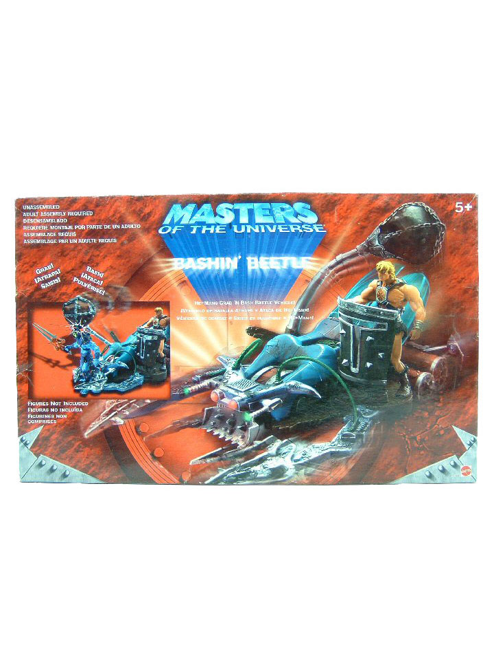 2003 Masters of the Universe MOTU Modern Series BASHIN' BEETLE Sealed NEW