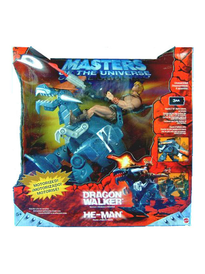 MOTU Modern Series Dragon Walker Sealed Mint in Box