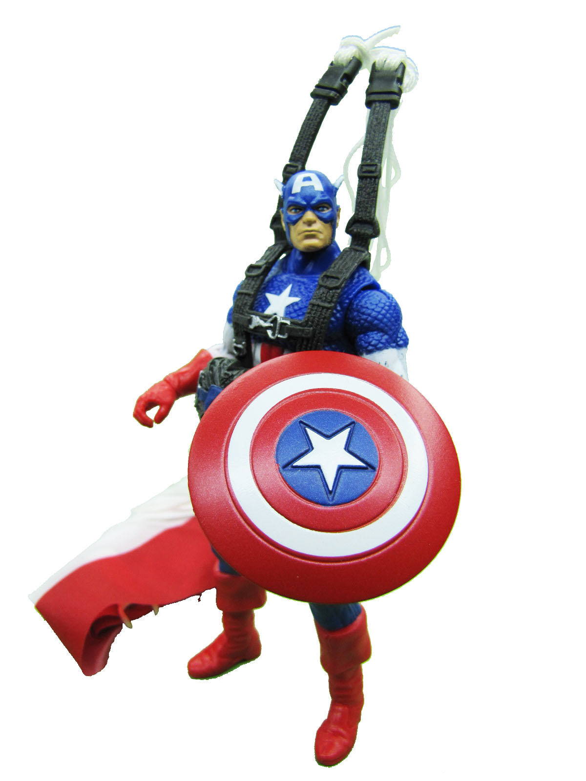 Marvel Movie Series Captain America with Parachute Complete