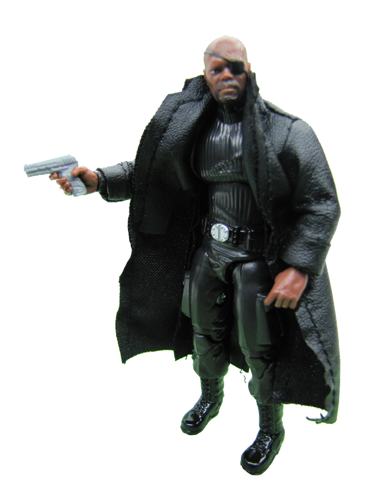 Marvel Toys R Us Exclusive Iron Man 2 Nick Fury Complete