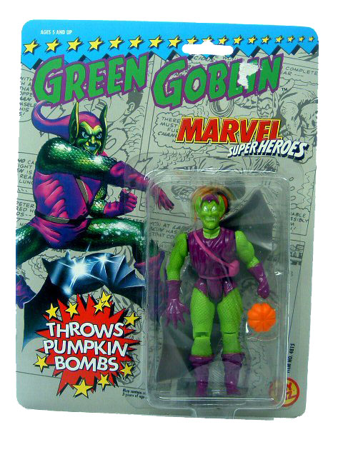 Marvel Super-Heroes Green Goblin Sealed Mint on Card