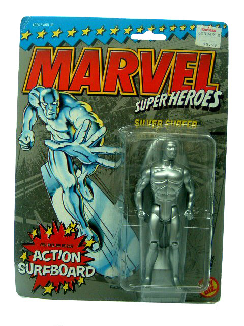 Marvel Super-Heroes Silver Surfer Sealed Mint on Card