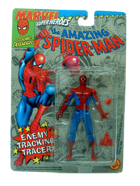 Marvel Super-Heroes Spider-Man Sealed Mint on Card