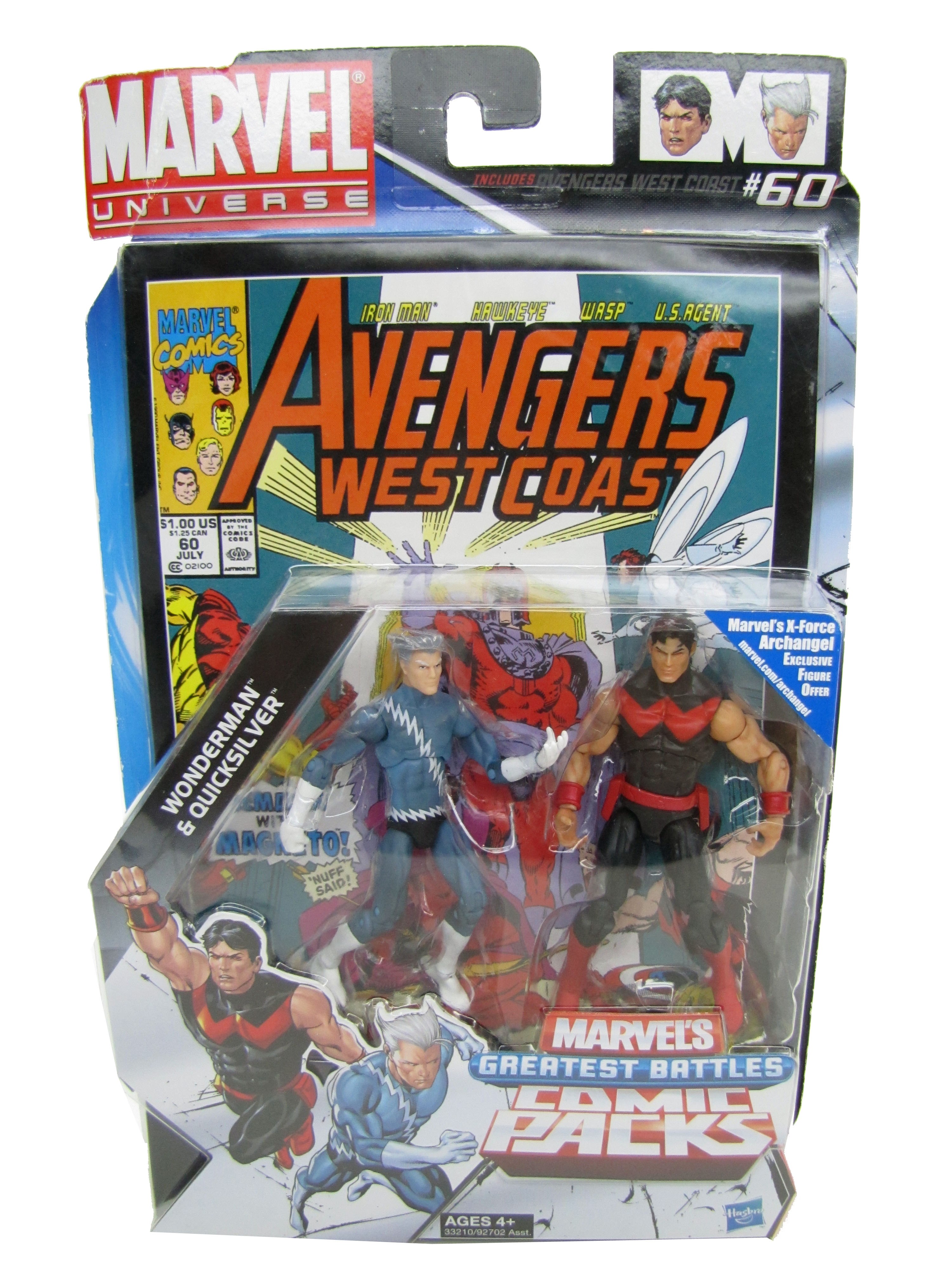 Marvel Universe Greatest Battles Wonderman & Quicksilver MOC