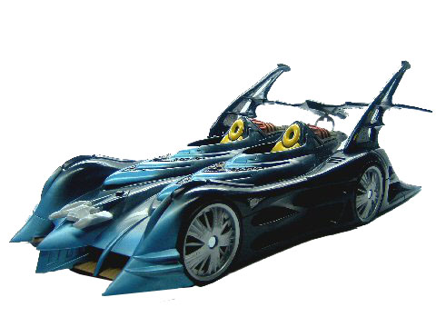 DC Super Heroes Batmobile Complete