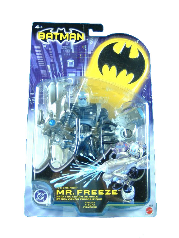 DC Super Heroes Ice Canon Mr. Freeze Sealed Mint on Card