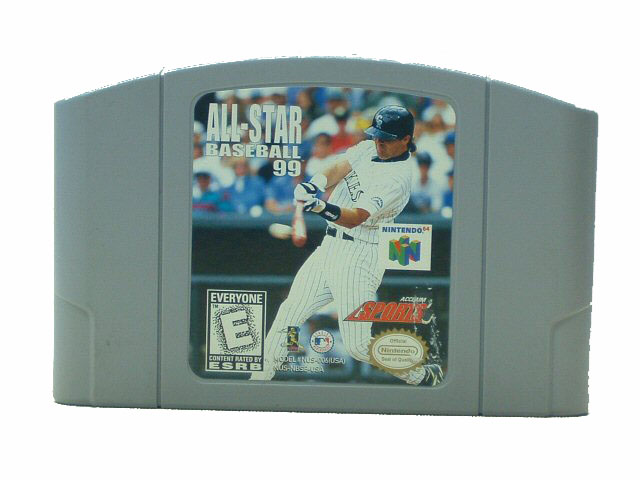 N64 All Star Baseball '99 - 1998