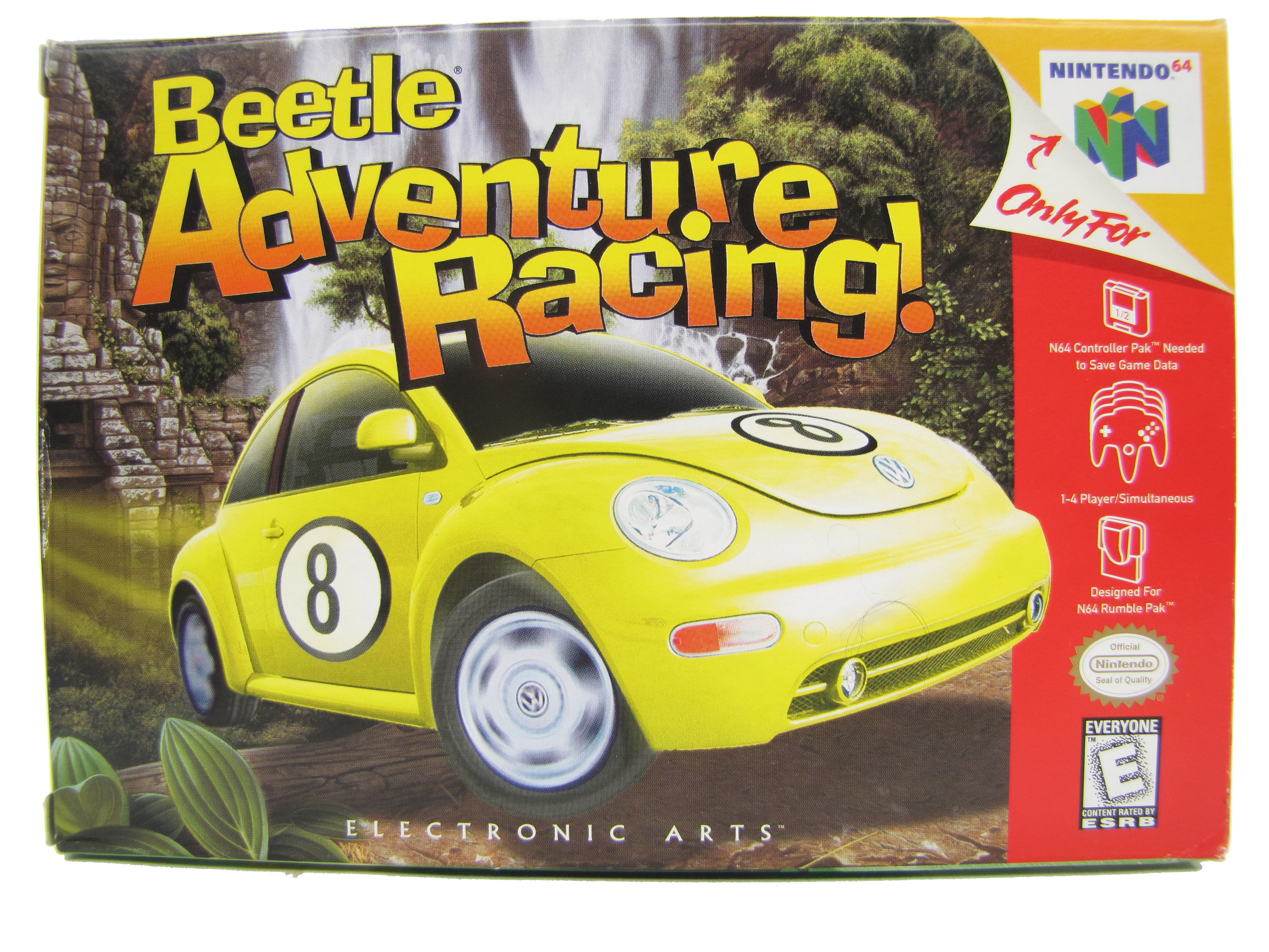 N64 Beetle Adventure Racing Complete in Box - 1999