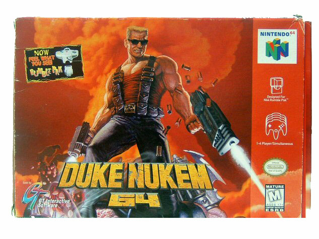 N64 Duke Nukem 64 Complete in Box - 1997