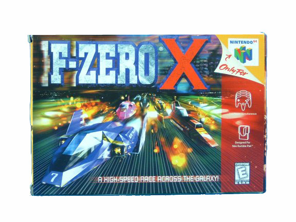 N64 F-Zero X Complete in Box - 1998