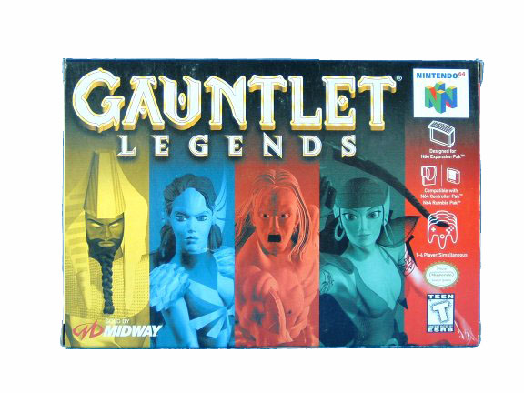 N64 Gauntlet Legends Complete in Box - 1999