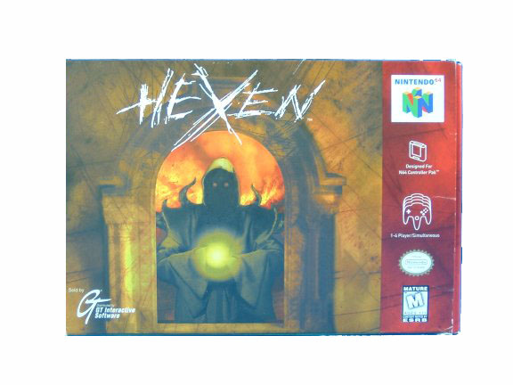 N64 Hexen Complete in Box - 1997