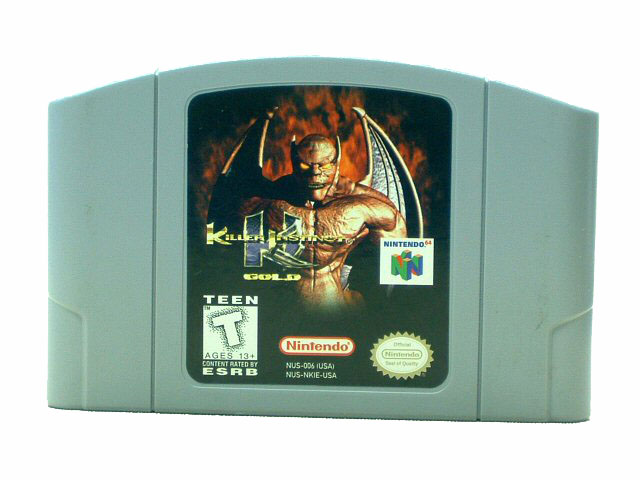 N64 Killer Instinct Gold - 1996