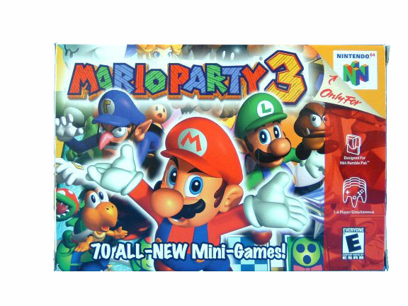 N64 Mario Party 3 Complete in Box - 2001