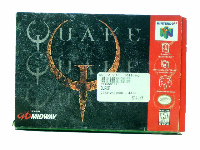 N64 Quake Complete in Box - 1998