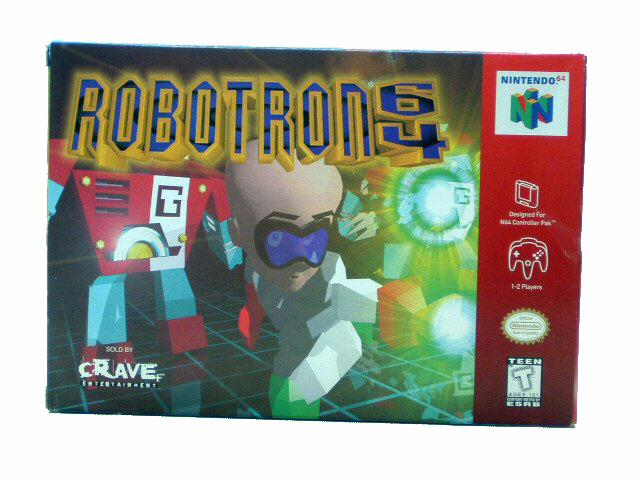 N64 Robotron 64 Complete in Box - 1998