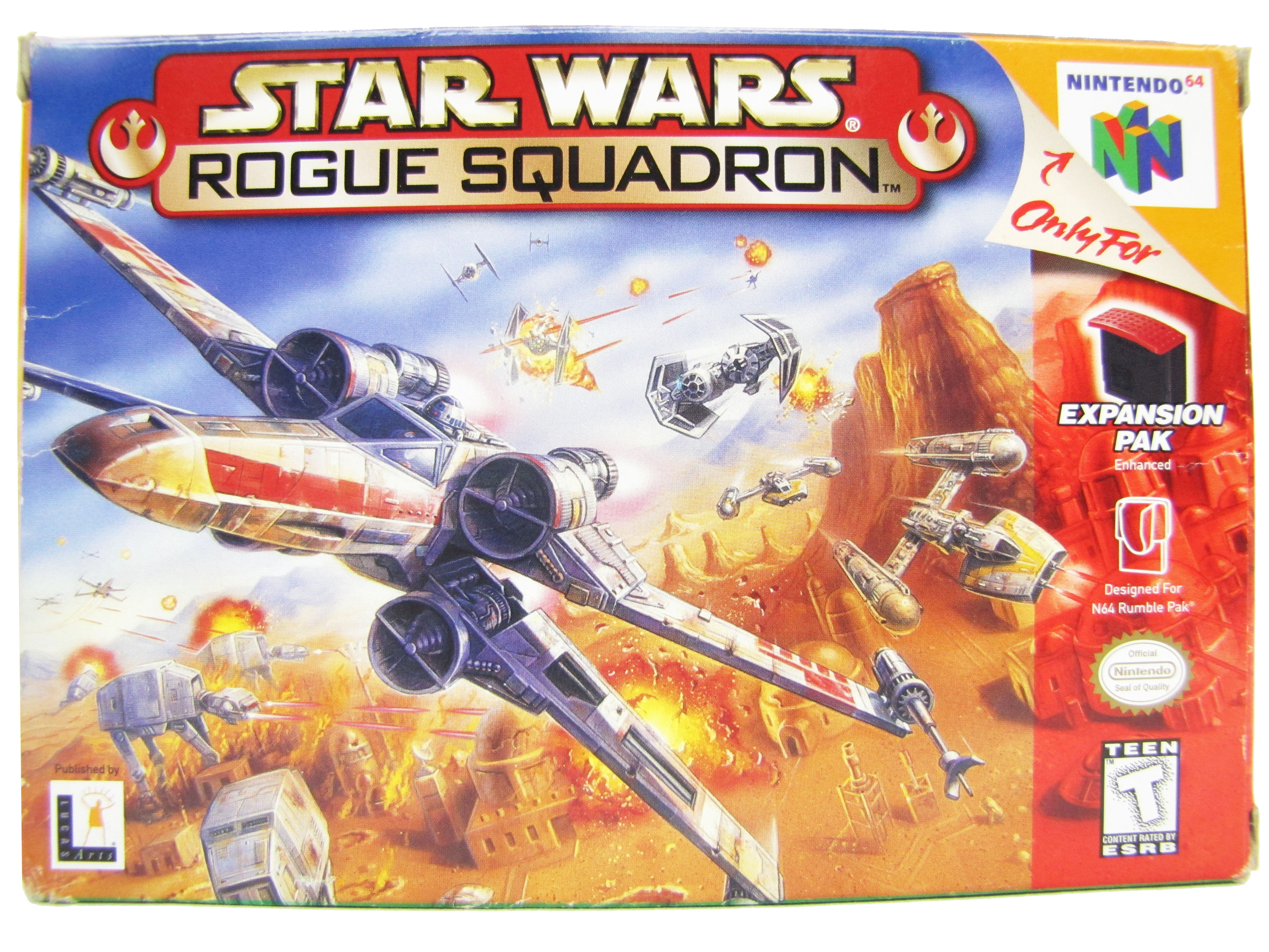 N64 Star Wars: Rogue Squadron Complete in Box - 1998