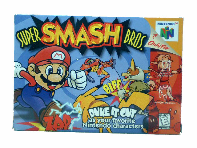 N64 Super Smash Bros. Complete in Box - 1999