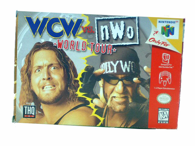 N64 WCW vs. NWO: World Tour Complete in Box - 1997