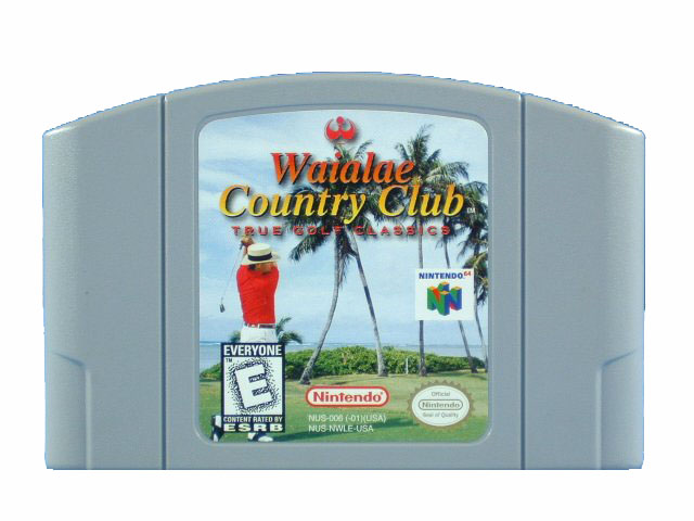 N64 Waialae Country Club: True Golf Classics - 1998
