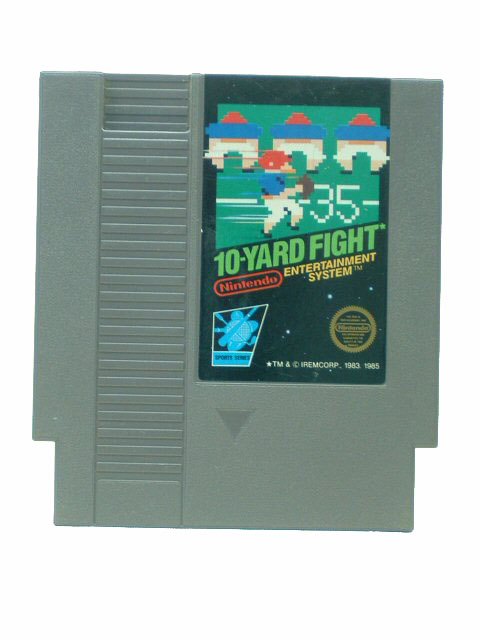 NES 10 Yard Fight - 1985