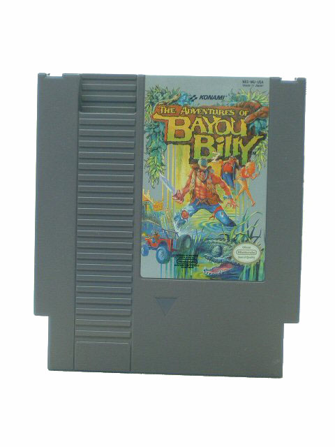 NES Adventures of Bayou Billy - 1988