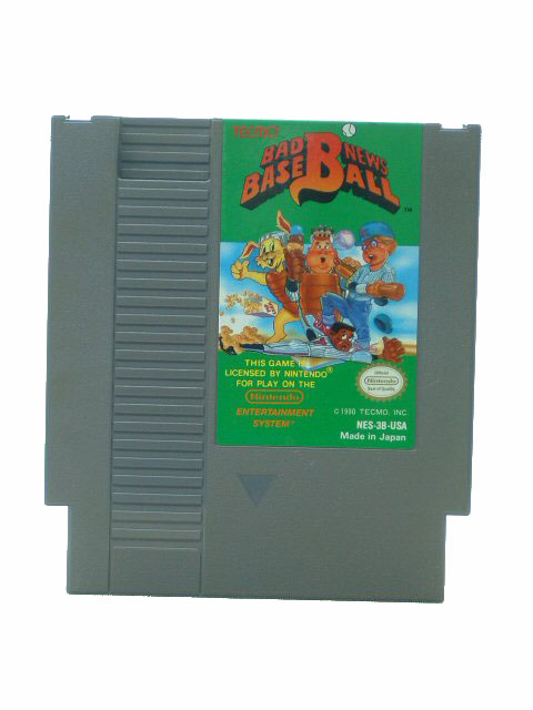 NES Bad News Baseball - 1990