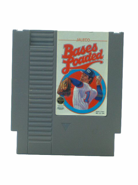 NES Bases Loaded - 1987