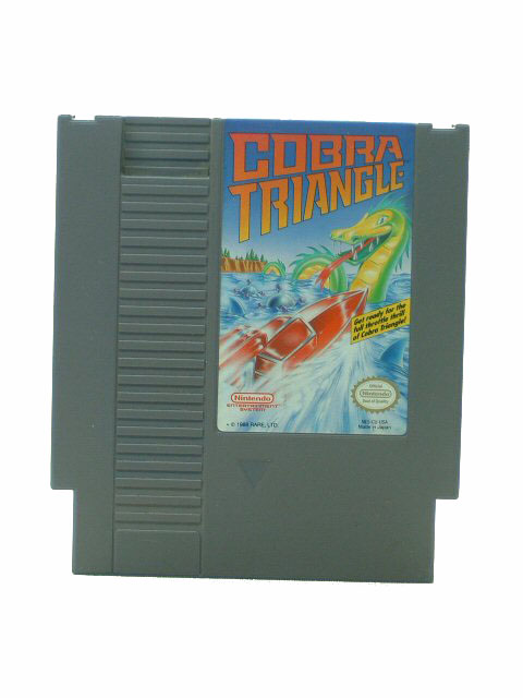 NES Cobra Triangle - 1989
