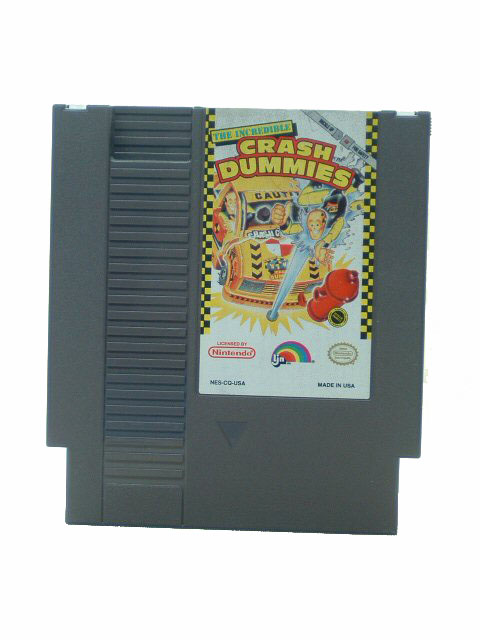 NES The Incredible Crash Dummies - 1993