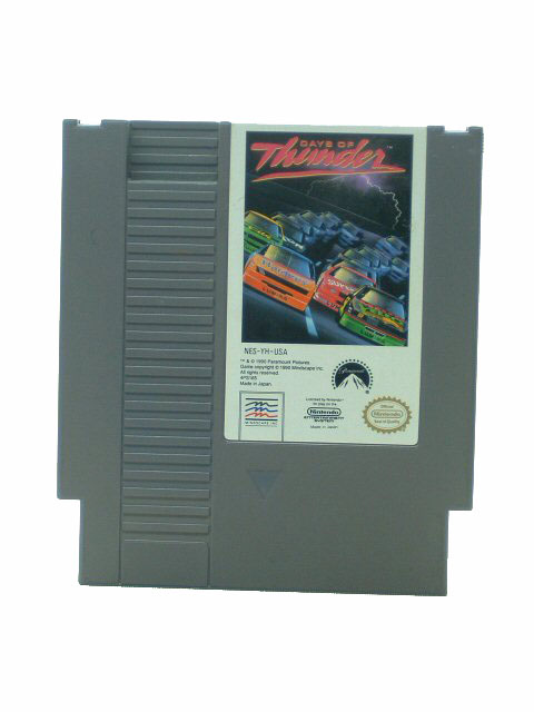 NES Days of Thunder - 1990