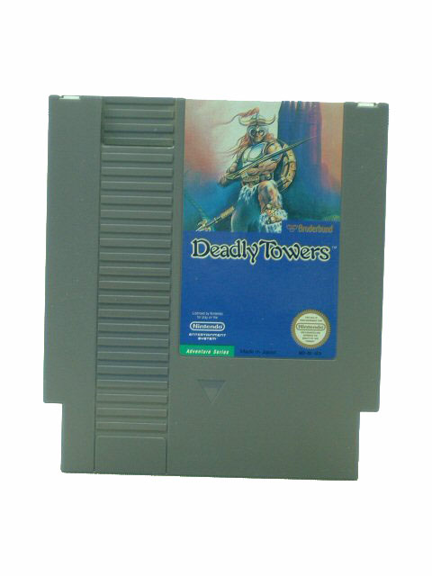 NES Deadly Towers - 1985