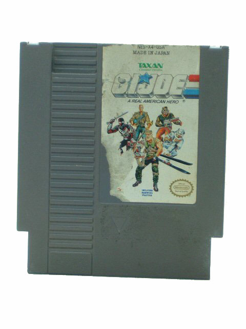 NES GIJoe G.I. Joe: A Real American Hero - 1990